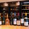 経験豊富なシニアソムリエが150種類のワインの中からチョイス