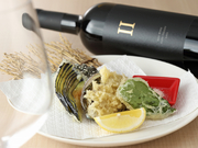 有機野菜と蝦夷あわび Vegi&Fish