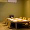 6名まで利用できる個室。食通のお客様の接待にも安心な料理屋