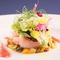 『近海の甘エビとラタトゥイユの前菜 2016』※料理は一例。仕入れに応じて変わります。