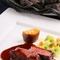 『道産牛フィレ肉の溶岩焼き』※料理は一例。仕入れに応じて変わります。