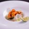 北海道産の季節の魚介類と選りすぐりの特選肉でコースを組み立て