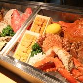 漁場本拠地だからこそ食べられる、鮮度バツグンの魚介