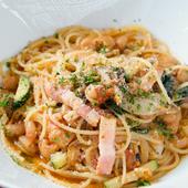 ソースが自慢の『スパゲティーニ お野菜たっぷりトマトソース』