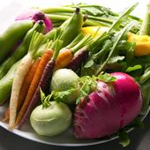 広島県安芸高田市「まご野菜農園」のとれたて野菜を使用