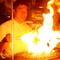 本格備長炭で焼き上げる炭火焼き肉