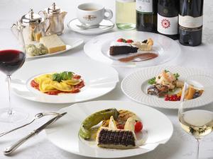 その日の料理から選べる!  ディナーコース『フォルトゥーナ』