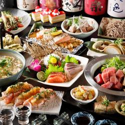 北海道の新鮮な海の幸をたっぷり使用し、出汁をしっかりと抽出した海鮮カニすき鍋やネギま鍋は当店自慢!!