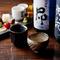 厳選された日本酒は、全国から集められた充実のラインナップ