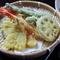 実は鮮度が大切な天ぷら。綿実油でさらりとした食感を追求