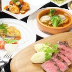 オシャレなイタリアンバルで美味しいお肉デート