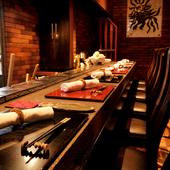 名古屋・本山の隠れ家的な立地に、高級感漂う和の空間が広がる