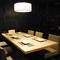 接待や会食、女子会に重宝する個室を完備