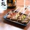 お肉と野菜の旨味をダブルで味わえる『肉巻き串焼き』