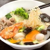 辛いものが苦手でも味わえる『麻辣湯の中華麺、0番白湯スープ』