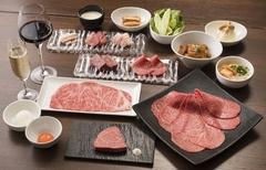 うしごろバンビーナ銀座店限定の極上コース 当店限定の極上生肉や希少部位が詰まったスペシャルコースです