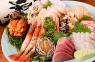 【北海道近海最高の味】その日仕入れたものばかり!番屋おまかせコース 4000円~