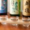 刺身、にぎりに合う日本酒が多数ラインナップ