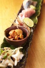 新鮮な魚介類を一皿で味わえる『刺身盛合せ 五点盛り』