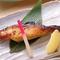 肉厚でしっかりと味わい、日本酒との相性も抜群の『銀だらの西京焼』