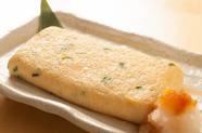 自家製の魚介類の味わいが口の中に広がる『こだわりの出汁巻き』
