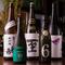 日本酒は、流行りのものから古酒まで充実のラインナップ