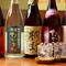 鹿児島県産の焼酎、各地の地酒、和食に合う季節のお酒
