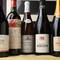 フランスワインをはじめ、豊富な種類のワインが勢ぞろい