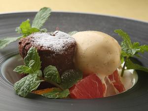 チョコレートの風味が主張する大人のデザート『フォンダンショコラ』