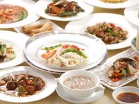 中華料理をおつまみにゆったりと流れる極上時間