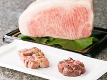 地元の最高級牛肉、ジューシーな肉質が魅力の『みかわ牛ゴールドA5のステーキ』