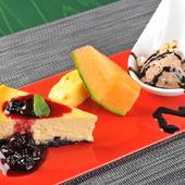 自家製スイーツと旬のフルーツを『デザートプレート』で満喫