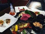 大和牛や大和野菜だけでなく、フォアグラやオマールエビなどの厳選された食材を使用した年に一度の特別なディナーコース。
