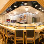 極上のお寿司と共に、一人呑みの夜が過ごせる