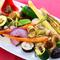 シェフ自ら収穫した新鮮野菜『旬の焼き野菜盛り合わせ』