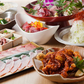 1日5組限定黒毛和牛&鮪食べ放題!期間限定2500円!