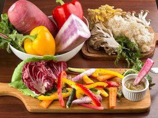 契約農家で栽培した有機野菜を使用しています!