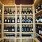 イタリアワインを選べるウォークインワインセラー