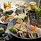 【海鮮料理 えいたろう】の、会席料理の要『お造り』