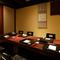 全室掘りごたつ式個室。50名様までの集まりに対応可能