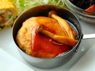 フワフワ食感がやみつきになる『豆腐ハンバーグ』