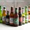 世界各国から幅広く取り揃えられたビールが30種類以上