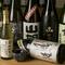 日本酒は稀少酒もあり、多彩な品揃えが自慢