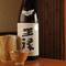大将自ら飲んで料理との相性を確認した、こだわりの日本酒