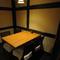 改まった会食にも相応しい、洗練されたテーブル席