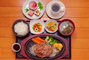 牛ロースステーキ定食