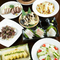 高知の食材が色々楽しめるコースです。県外のお客様にもオススメです。