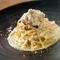オニオンソテーがまろやかな『Sole名物スパゲティー カルボナーラ』