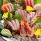 厳選日本酒と味わうこだわりの魚介類とイベリコ豚、地鶏