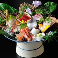 特選鮮魚八種盛り 番屋 鬼盛り